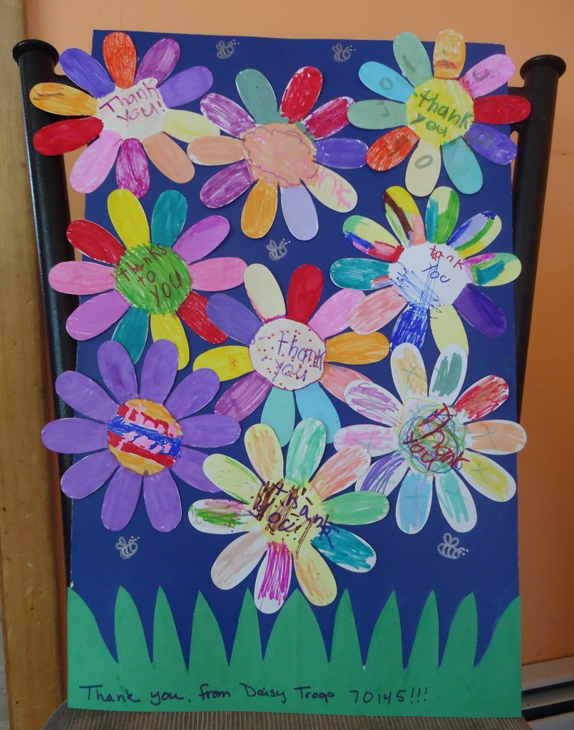 Girl scout founders day idea