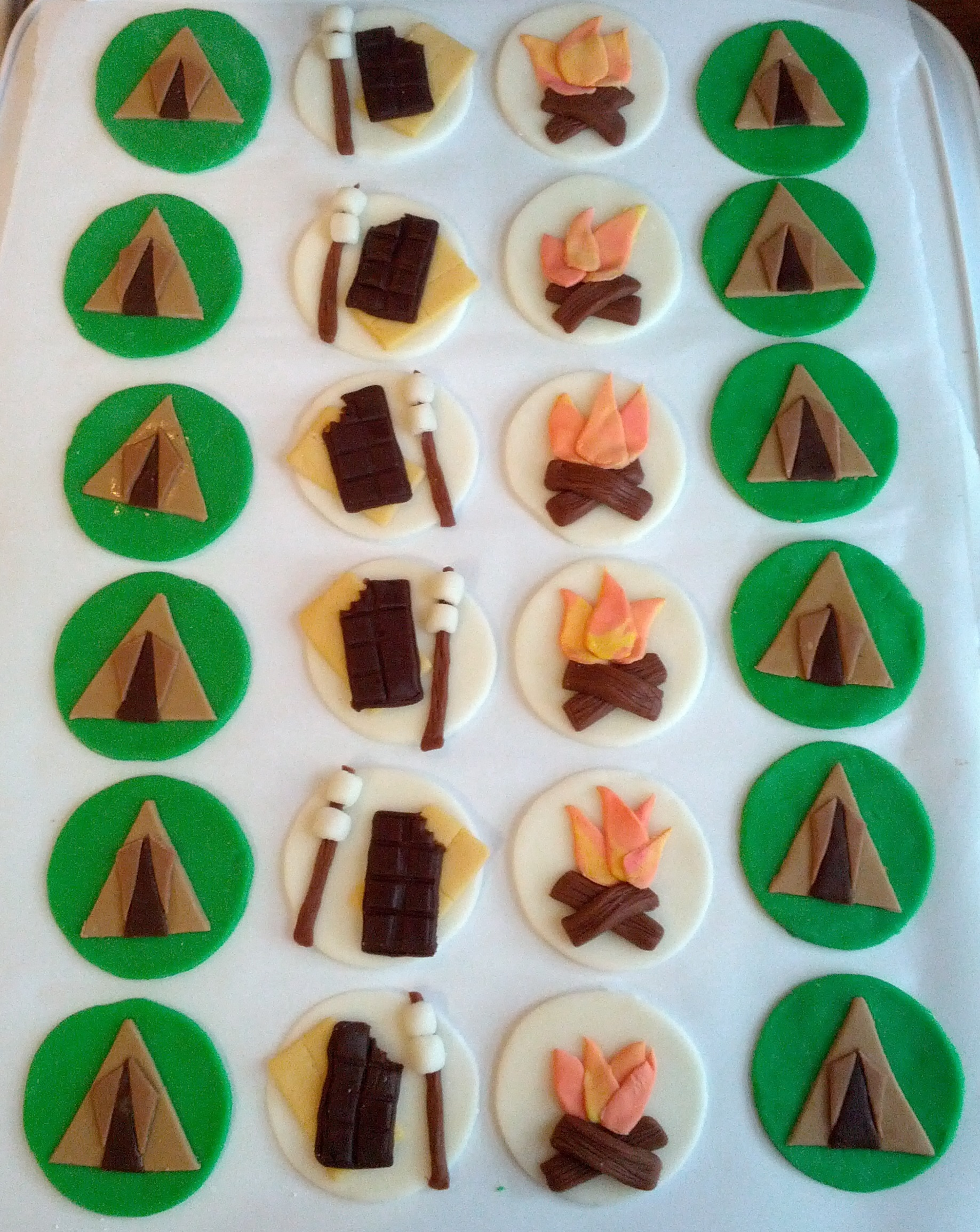 Girl Scout Cake Topper