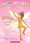 amber orange fairy