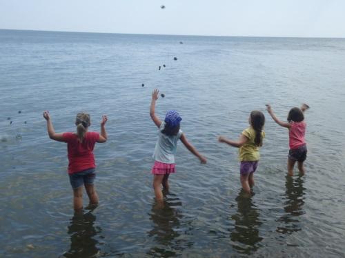 Lake fun.