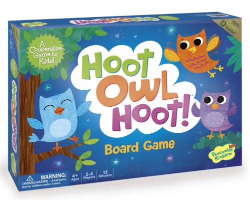 A cooperative game where you need to get all the baby owls in their nest before the sun comes up.